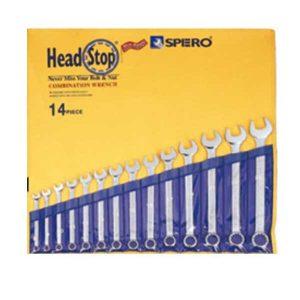 مجموعه آچار دستی یک سر رینگ 501-712P-2
